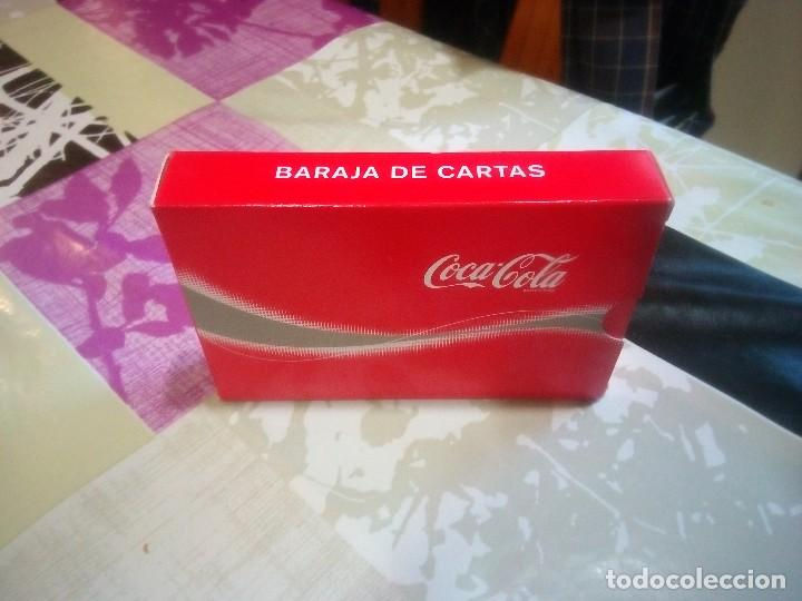 Coleccionismo de Coca-Cola y Pepsi: BARAJA DE CARTAS PUBLICIDAD DE COCA COLA - Foto 2 - 135058121