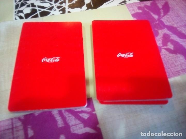 Coleccionismo de Coca-Cola y Pepsi: BARAJA DE CARTAS PUBLICIDAD DE COCA COLA - Foto 3 - 135058121