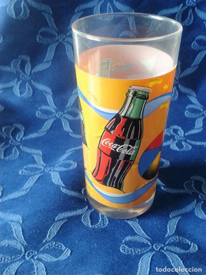 2 MODELOS DE VASOS VINTAGE COCACOLA (Coleccionismo - Botellas y Bebidas - Coca-Cola y Pepsi)