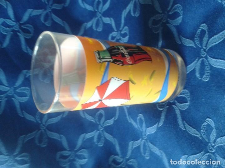 Coleccionismo de Coca-Cola y Pepsi: 2 MODELOS DE VASOS VINTAGE COCACOLA - Foto 2 - 117522587