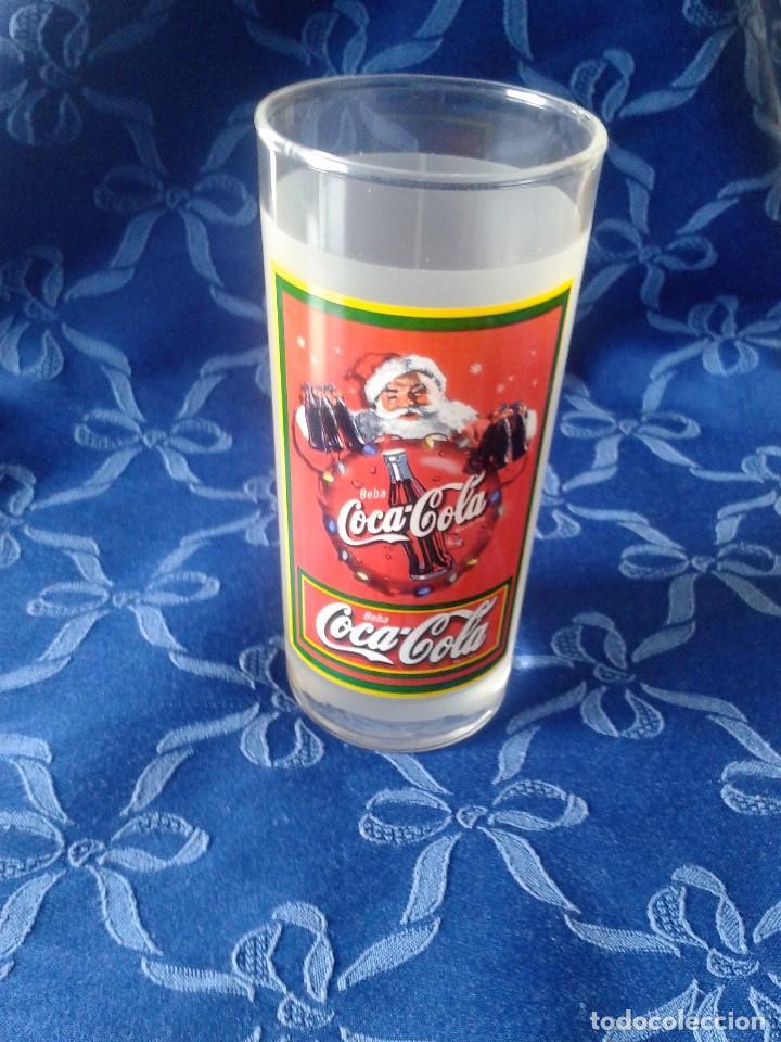 Coleccionismo de Coca-Cola y Pepsi: 2 MODELOS DE VASOS VINTAGE COCACOLA - Foto 3 - 117522587