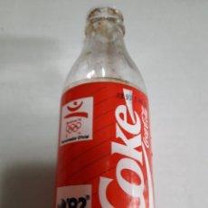 Coleccionismo de Coca-Cola y Pepsi: ANTIGUA BOTELLA DE COCA-COLA EXPO92. Lote 179016126