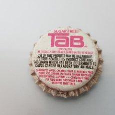 Coleccionismo de Coca-Cola y Pepsi: ANTIGUA CHAPA CORONA TAB COCA COLA U.S.A SIN USAR MUY RARA. Lote 119192674