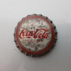 Coleccionismo de Coca-Cola y Pepsi: EXCELENTE ANTIGUA CHAPA CORONA COCA COLA TRADEMARK CORCHO SIN EMBOTELLAR. Lote 119425494