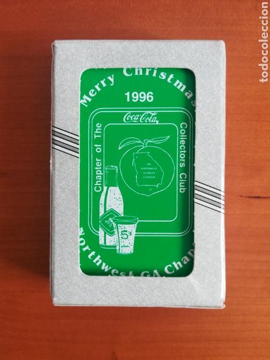 Baraja Merry Christmas 1996 Chapter Of The Coca Kaufen Coca Cola