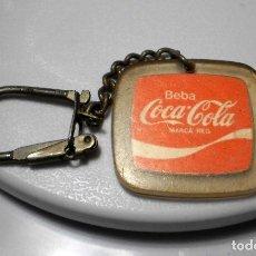Coleccionismo de Coca-Cola y Pepsi: MERCHANDISING COCA-COLA: LLAVERO VINTAGE. Lote 119671399