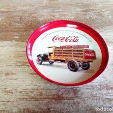 Coleccionismo de Coca-Cola y Pepsi: COCA-COLA MINI BANDEJA DE CAMIÓN . Lote 119860035
