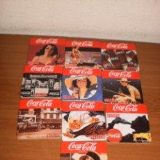 Coleccionismo de Coca-Cola y Pepsi: COCA-COLA MERCHANDISING: POSAVASOS 'SIEMPRE COCA COLA. GRACIAS'. CAJA 10 UNIDADES.. Lote 120115367