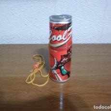 Coleccionismo de Coca-Cola y Pepsi: COCA-COLA MERCHANDISING: VENTILADOR PORTÁTIL VINTAGE (FUNCIONA CON 2 PILAS AA). Lote 120126303