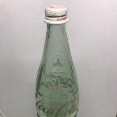 Coleccionismo de Coca-Cola y Pepsi: BOTELLA ANTIGUA COCACOLA. TAPON ORIGINAL. Lote 120161996