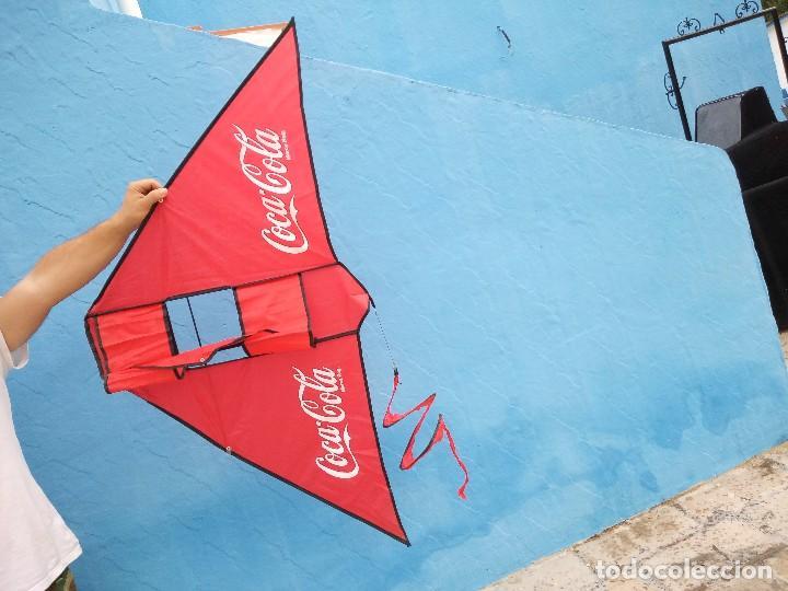 Coleccionismo de Coca-Cola y Pepsi: cometa coca cola. - Foto 4 - 120349675