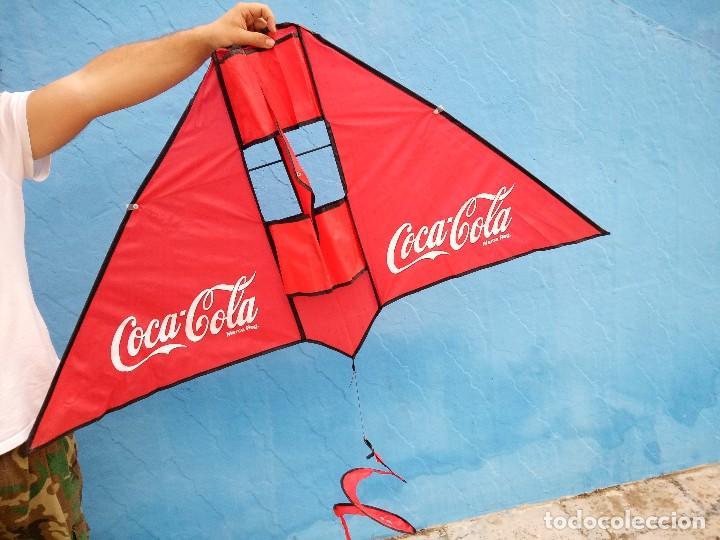 Coleccionismo de Coca-Cola y Pepsi: cometa coca cola. - Foto 5 - 120349675