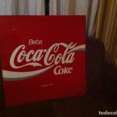Coleccionismo de Coca-Cola y Pepsi: ANTIGUA CHAPA PLACA COCA-COLA. ORIGINAL DE 1970S. METÁLICA. ESPAÑOLA. GRANDE: 70X70 CMS. Lote 120363387
