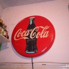 Coleccionismo de Coca-Cola y Pepsi: ANTIGUO CARTEL LUMINOSO COCA-COLA. COCACOLA. LÁMPARA VINTAGE . Lote 120756383