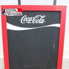 Coleccionismo de Coca-Cola y Pepsi: PIZARRA DE COCA COLA DOBLE CARA. TAMAÑO 50X70 CM. Lote 121082883