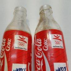 Coleccionismo de Coca-Cola y Pepsi: BOTELLA ANTIGUA COCACOLA LOTE 2 EXPO 92. Lote 202807907