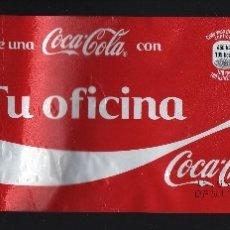 Coleccionismo de Coca-Cola y Pepsi: ETIQUETA DE 2 LITROS DE COCA-COLA - COMPARTE UNA COCA-COLA CON TU OFICINA -. Lote 62764348