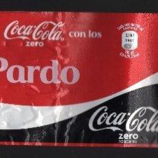 Coleccionismo de Coca-Cola y Pepsi: ETIQUETA DE COCA-COLA ZERO DE 2 LITROS - COMPARTE UNA COCA-COLA CON LOS PARDO -. Lote 66196718