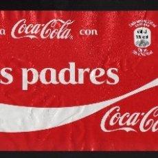 Coleccionismo de Coca-Cola y Pepsi: ETIQUETA DE 2 LITROS DE COCA-COLA - COMPARTE UNA COCA-COLA CON TUS PADRES -. Lote 66197130