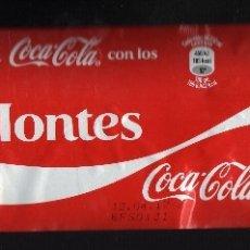 Coleccionismo de Coca-Cola y Pepsi: ETIQUETA DE COCA-COLA DE 2 LITROS - COMPARTE UNA COCA-COLA CON LOS MONTES -. Lote 67997741