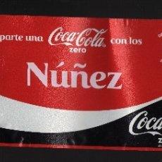 Coleccionismo de Coca-Cola y Pepsi: ETIQUETA DE COCA-COLA ZERO DE 2 LITROS - COMPARTE UNA COCA-COLA CON LOS NÚÑEZ -. Lote 70213745