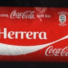 Coleccionismo de Coca-Cola y Pepsi: ETIQUETA DE COCA-COLA DE 2 LITROS - COMPARTE UNA COCA-COLA CON LOS HERRERA -. Lote 70213877