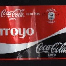 Coleccionismo de Coca-Cola y Pepsi: ETIQUETA DE COCA-COLA ZERO DE 2 LITROS - COMPARTE UNA COCA-COLA CON LOS ARROYO -. Lote 77451597