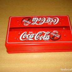 Coleccionismo de Coca-Cola y Pepsi: DISPENSADOR SERVILLETAS / SERVILLETERO (PLASTINSA - PATERNA, VALENCIA) COCA-COLA. Lote 124546259