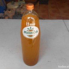 Coleccionismo de Coca-Cola y Pepsi: BOTELLA DE MIRINDA DE NARANJA. Lote 124548523