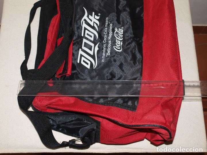 Coleccionismo de Coca-Cola y Pepsi: BOLSA DEPORTE COCA COLA CON LETRAS EN CHINO. 55 X 35 CM APROX. VER FOTOS Y DESCRIPCION - Foto 16 - 124617855