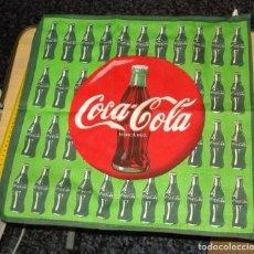 Coleccionismo de Coca-Cola y Pepsi: PAÑO COCINA BOTELLAS COCA-COLA. 100% ALGODÓN.. Lote 124658967