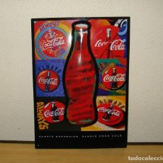 Coleccionismo de Coca-Cola y Pepsi: CARTEL METÁLICO RELIEVE REPRODUCCIÓN 'ALWAYS HAPPENING - ALWAYS COCA-COLA'. Lote 124918907