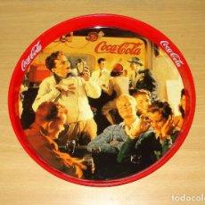 Coleccionismo de Coca-Cola y Pepsi: BANDEJA METÁLICA REDONDA REPRODUCCIÓN 'TIME FOR A COKE' COCA-COLA (BURGUER KING). Lote 124923991