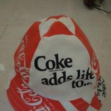 Coleccionismo de Coca-Cola y Pepsi: GORRA GORRO COCA COLA COKE - ADDS LIFE TO.... Lote 125330462