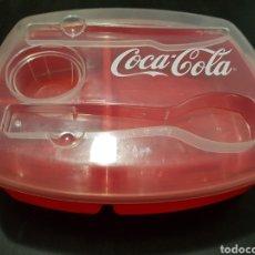 Coleccionismo de Coca-Cola y Pepsi: ESTUCHE PICNIC COCA-COLA. Lote 125343262