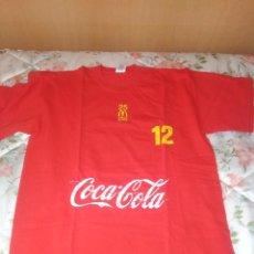 Coleccionismo de Coca-Cola y Pepsi: CAMISETA MCDONALDS COCA COLA 12. Lote 125484039