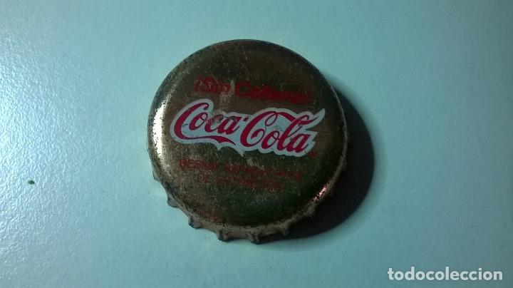 CHAPA CORONA COCA-COLA SIN CAFEÍNA (Coleccionismo - Botellas y Bebidas - Coca-Cola y Pepsi)