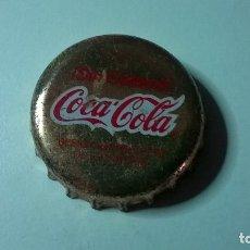 Coleccionismo de Coca-Cola y Pepsi: CHAPA CORONA COCA-COLA SIN CAFEÍNA. Lote 126481186