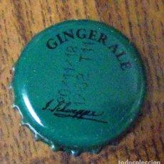 Coleccionismo de Coca-Cola y Pepsi: CHAPA REFRESCO SCHWEPPES GINGER ALE. Lote 126493135