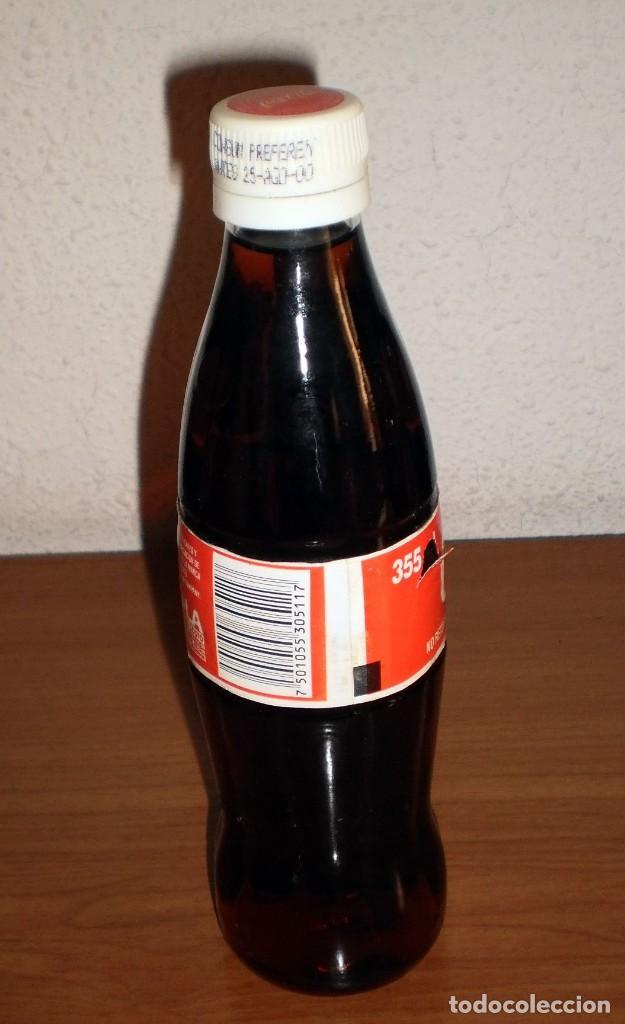 Coleccionismo de Coca-Cola y Pepsi: BOTELLA DE COCA-COLA 355 ml. HECHO EN MÉXICO. VIDRIO CON TAPÓN PLÁSTICO. BARCODE 7501055305117 - Foto 3 - 126749527