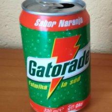 Coleccionismo de Coca-Cola y Pepsi: LATA REFRESCO GATORADE NARANJA. BOTE ESPAÑA CAN. Lote 126796411