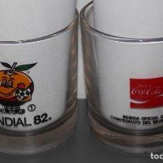 Coleccionismo de Coca-Cola y Pepsi: VASO VINTAGE DE LA MARCA COCA-COLA -MUNDIAL 82 Nº1. Lote 127168439
