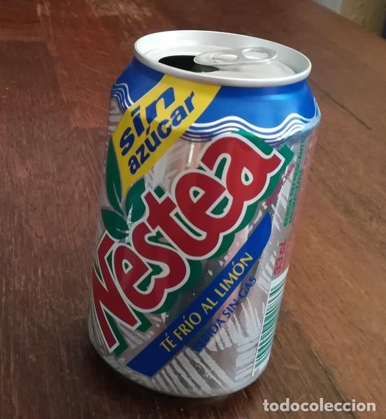LATA REFRESCO NESTEA TE FRIO AL LIMON SIN AZUCAR. BOTE TEA CAN SIN GAS (Coleccionismo - Botellas y Bebidas - Coca-Cola y Pepsi)
