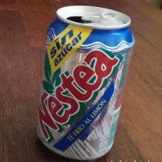 Coleccionismo de Coca-Cola y Pepsi: LATA REFRESCO NESTEA TE FRIO AL LIMON SIN AZUCAR. BOTE TEA CAN SIN GAS. Lote 127482659