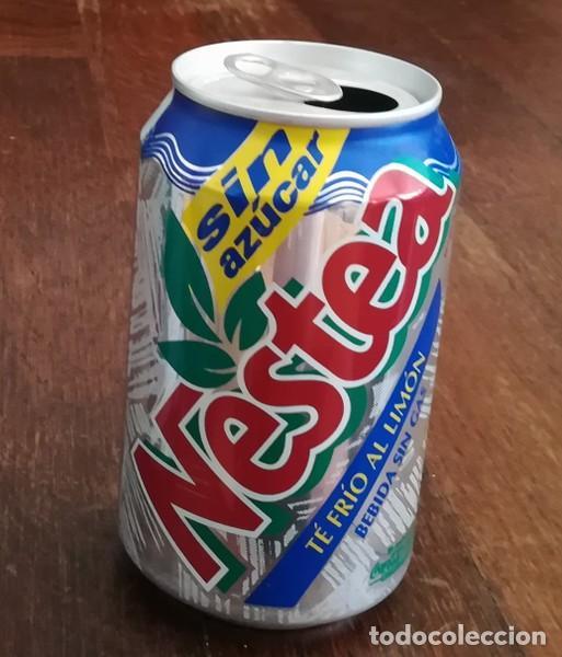 Coleccionismo de Coca-Cola y Pepsi: LATA REFRESCO NESTEA TE FRIO AL LIMON SIN AZUCAR. BOTE TEA CAN SIN GAS - Foto 2 - 127482659