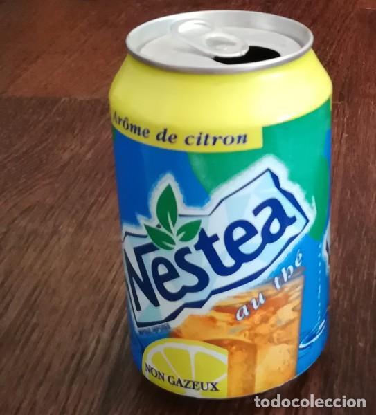 LATA REFRESCO NESTEA THE AROME DE CITRON. BOTE TEA CAN TE FRANCIA (Coleccionismo - Botellas y Bebidas - Coca-Cola y Pepsi)