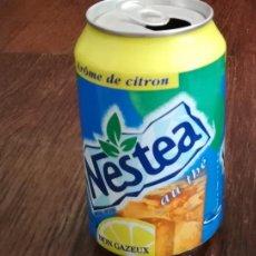 Coleccionismo de Coca-Cola y Pepsi: LATA REFRESCO NESTEA THE AROME DE CITRON. BOTE TEA CAN TE FRANCIA. Lote 127482975
