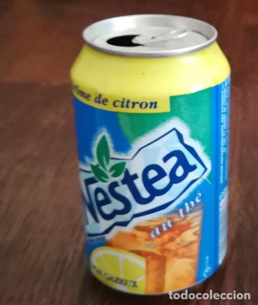 Coleccionismo de Coca-Cola y Pepsi: LATA REFRESCO NESTEA THE AROME DE CITRON. BOTE TEA CAN TE FRANCIA - Foto 2 - 127482975