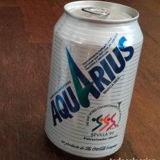 Coleccionismo de Coca-Cola y Pepsi: LATA REFRESCO AQUARIUS SEVILLA 99 IAAF WORLD CHAMPIONSHIP. BOTE CAN COCA-COLA COMPANY. Lote 127484191