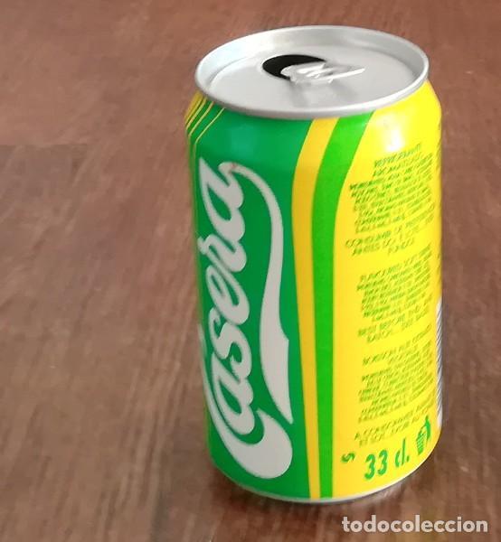 Coleccionismo de Coca-Cola y Pepsi: LATA GASEOSA LA CASERA LIMON DESAFIO ESPAÑOL COPA AMERICA 95. BOTE CAN REFRESCO - Foto 2 - 127536311